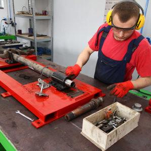 Renovace zadní nápravy Citroen